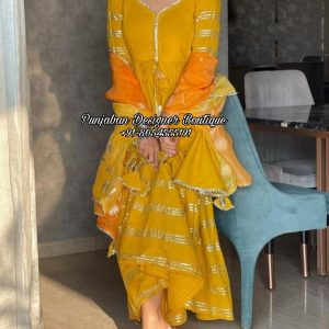 Buy Punjabi Suit With Palazzo UK