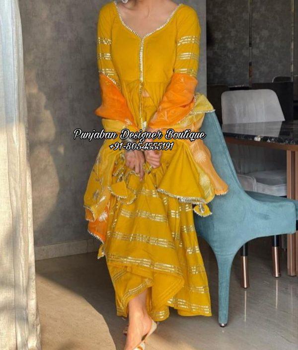 Buy Punjabi Suit With Palazzo UK