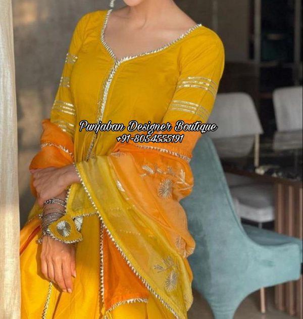 Buy Punjabi Suit With Palazzo UK USA
