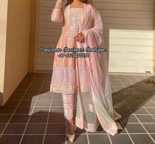 Designer Boutique Punjabi Suit USA