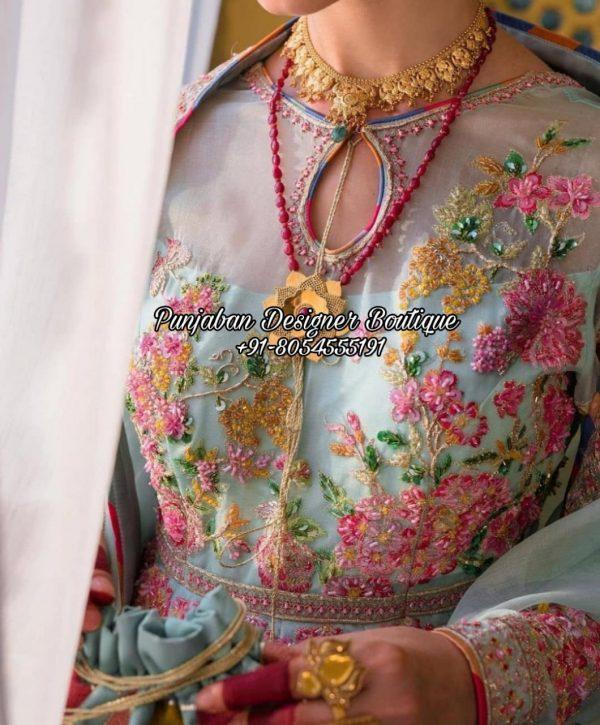Designer Punjabi Suit Boutique Canada USA