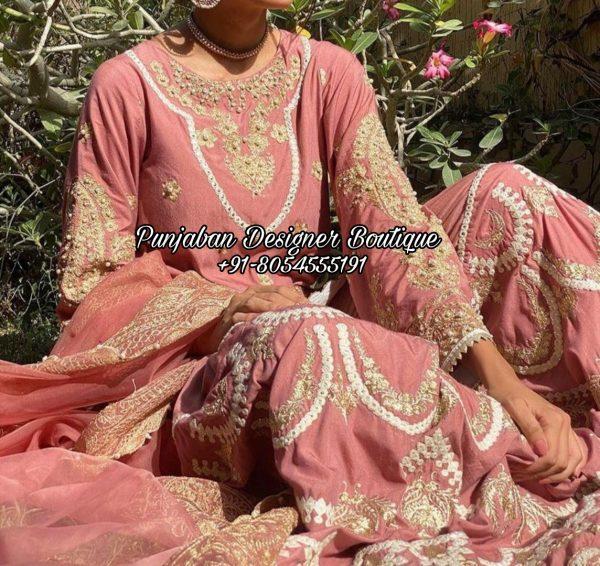 Punjabi Sharara Suit USA