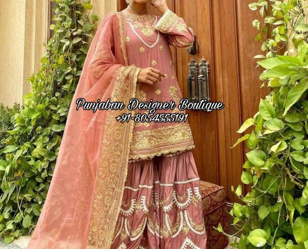 Punjabi Sharara Suit USA France