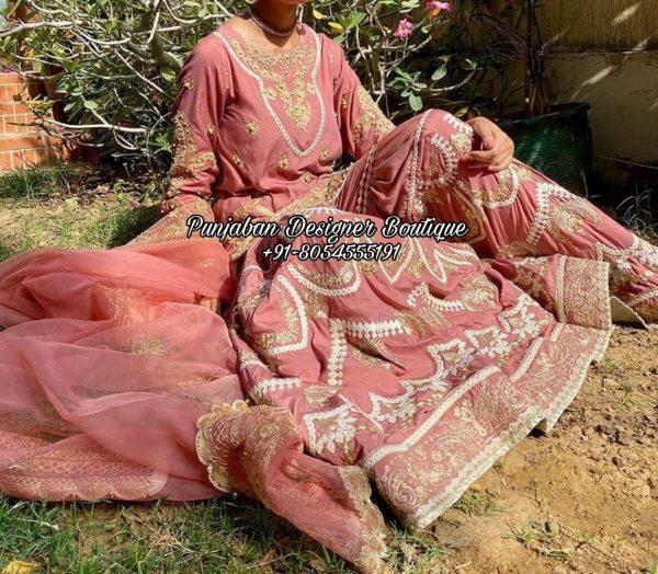 Punjabi Sharara Suit USA UK