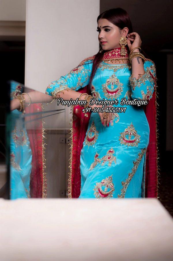 Punjabi Suits Designer Boutique Toronto California