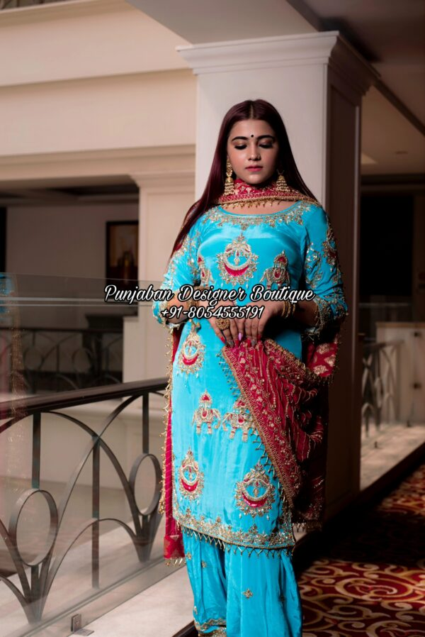 Punjabi Suits Designer Boutique Toronto California Australia