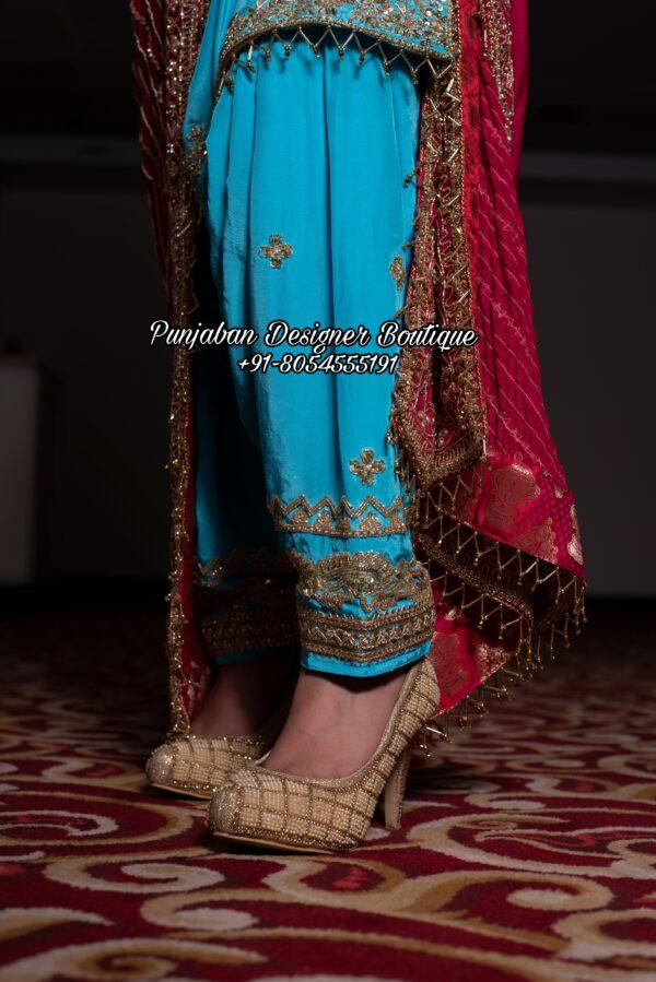 Punjabi Suits Designer Boutique Toronto California Australia USA