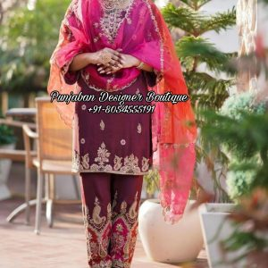 Punjabi Suits Neck Designs Canada