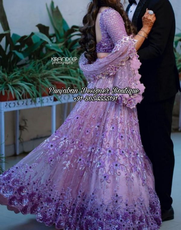 Reception Lehenga For Bride USA