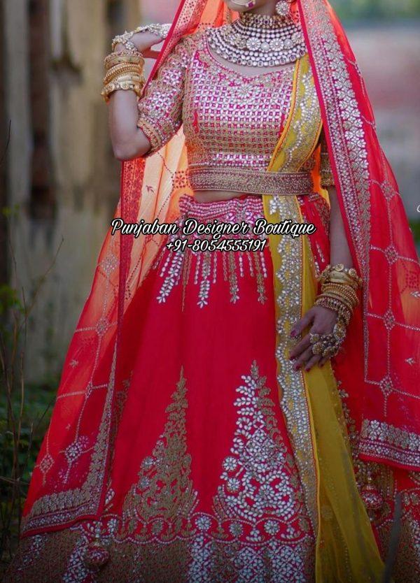Bridal Lehenga For Wedding USA