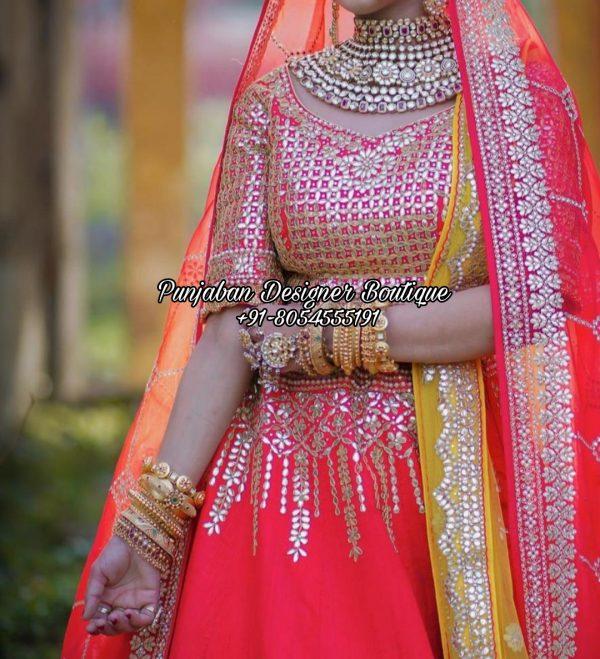 Bridal Lehenga For Wedding USA UK