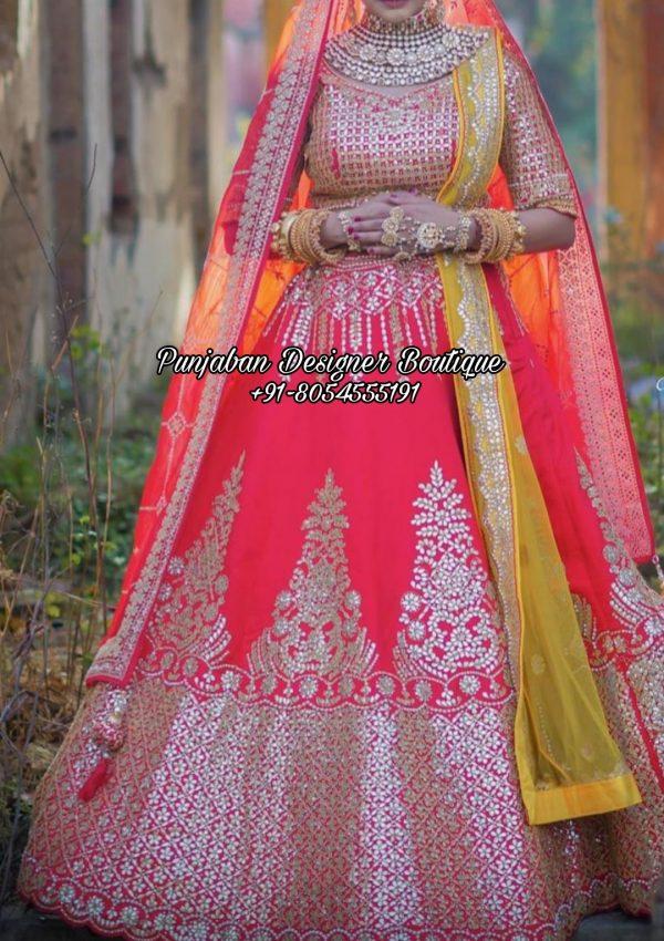 Bridal Lehenga For Wedding USA UK California