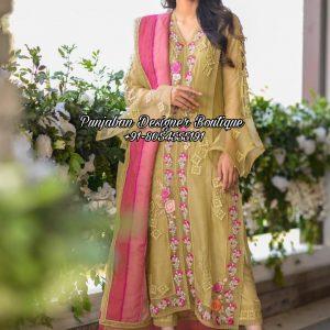 Designer Boutique Punjabi Suit Toronto