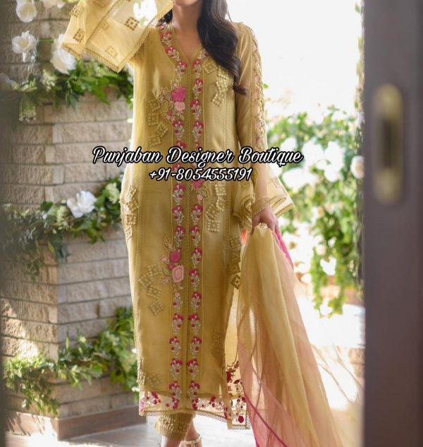 Designer Boutique Punjabi Suit Toronto UK USA
