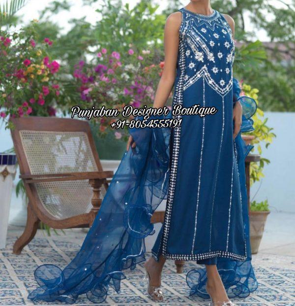 Designer Punjabi Suits Boutique Toronto