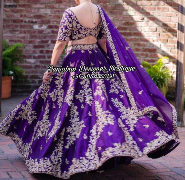 Designer Wedding Lehenga California USA