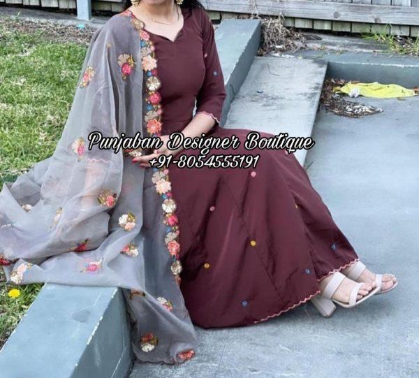 Latest Designer Punjabi Suit UK