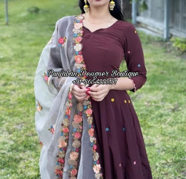 Latest Designer Punjabi Suit UK USA