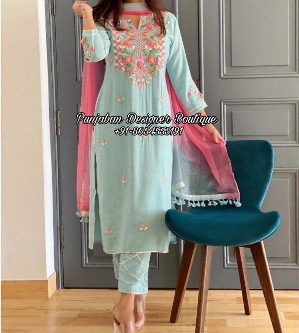 Punjabi Boutique Designer Suit UK