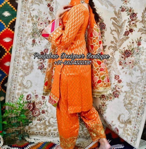 Punjabi Boutique Suits California