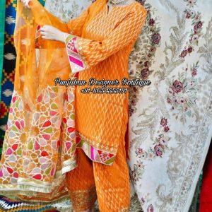 Punjabi Boutique Suits California Toronto