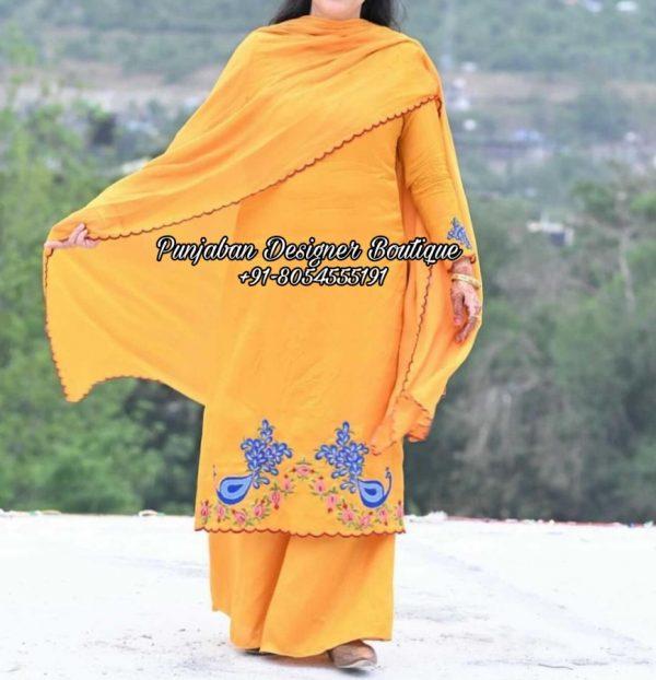 Punjabi Designer Boutique Suit UK