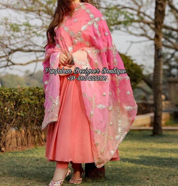 Anarkali Wedding Dress UK