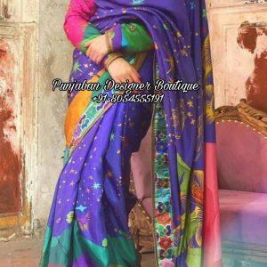 Designer Saree With Blouse UK