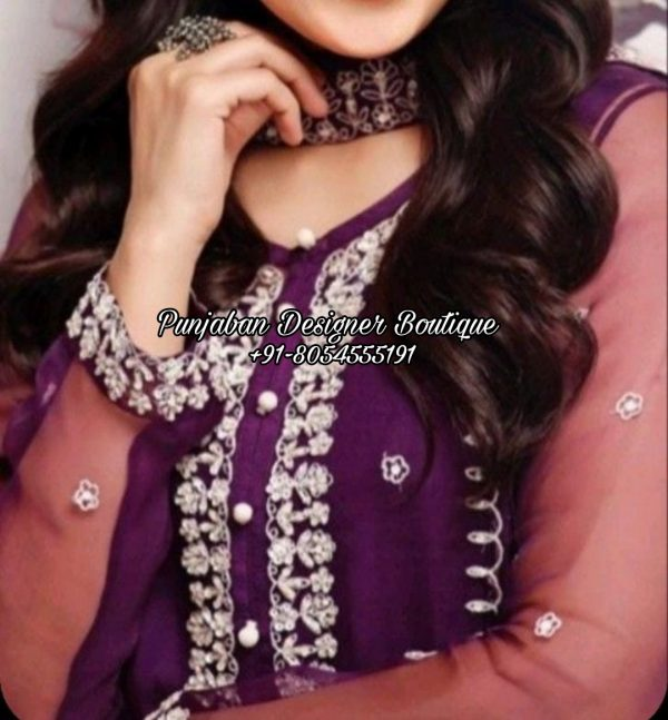 Latest Designs In Punjabi Suits USA