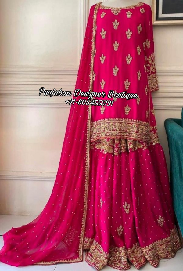 Sharara Punjabi Suit Italy
