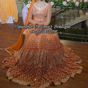 Bridal Lehenga Designer UK USA