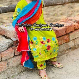 Salwar Suit Designs USA