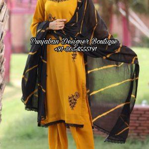 Salwar Suits Design Canada
